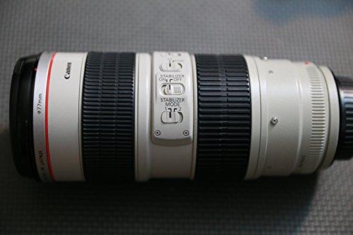 Canon EF 70200mm f/28L IS USM Telephoto Zoom Lens for Canon SLR Cameras  White BoxBulk Packaging