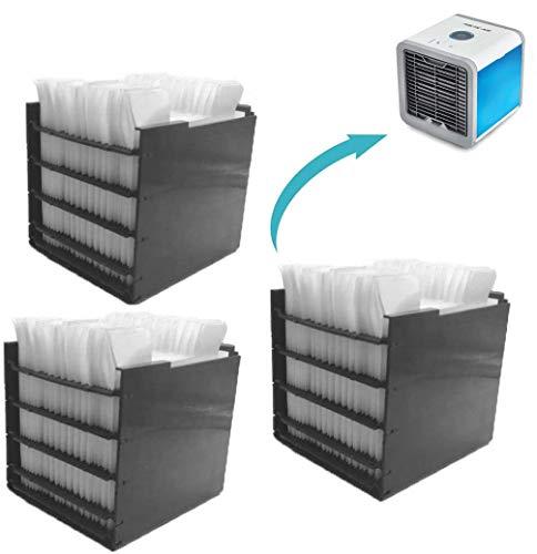 Arctic Air Cooler Filter, Ersatzfilter Enthält 30 Papierschichten für Mini Luftkühler Ventilator und Mini Mobil Klimageräte - Das Original aus dem TV | 3 Stück (Eine Generation Air Cooler Filter)