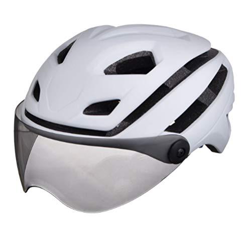 2019 mountainbike weg geïntegreerde gieten scrub riem bril rijden helm fietshelm helm (geven paardrijden bril)