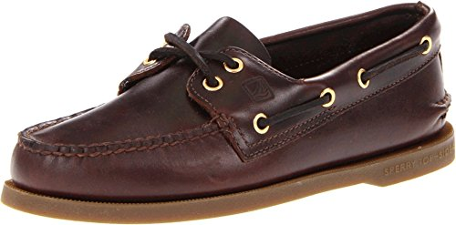 Sperry Men's Authentic Original 2-Eye Boat Shoe, Amaretto, 15 W US