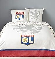 Olympique Lyonnais Parure de lit Blanche 1 Place