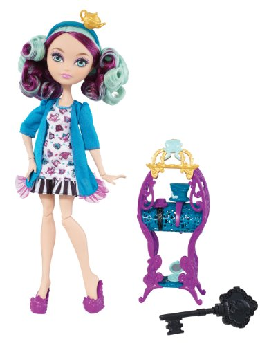 Mattel Ever After High BDB15 - Herzenstag Madeline Hatter, Puppe