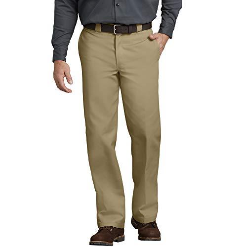 Dickies Herren Slim Straight Work Pants Sporthose, Beige (Khaki), W38 /L36