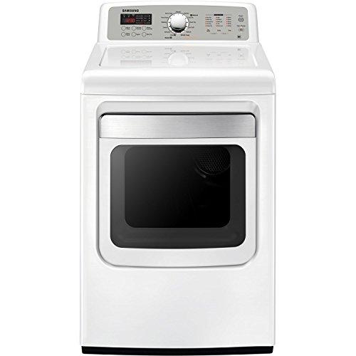 Samsung DV5471AGW 7.4 Cu. Ft White With Steam Cycle Gas Dryer