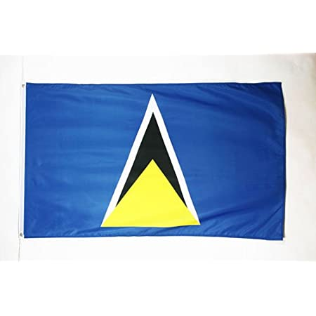 St Lucia Large 3 X 5 Feet Country Flag Banner Great Quality New Outdoor Flags Garden Outdoor