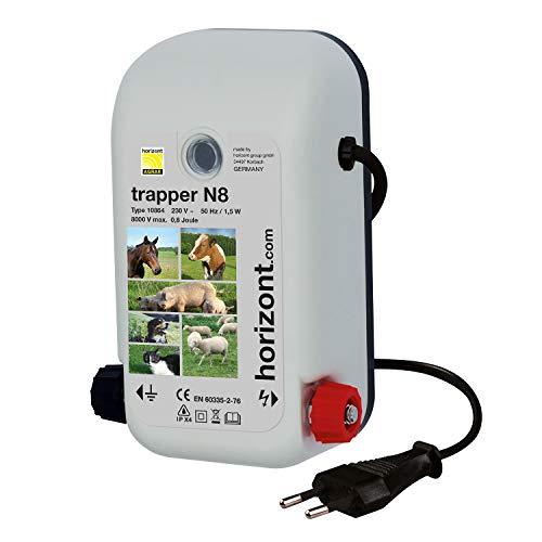 Horizont Weidezaungerät Elektrozaungerät trapper N8 - 230 Volt