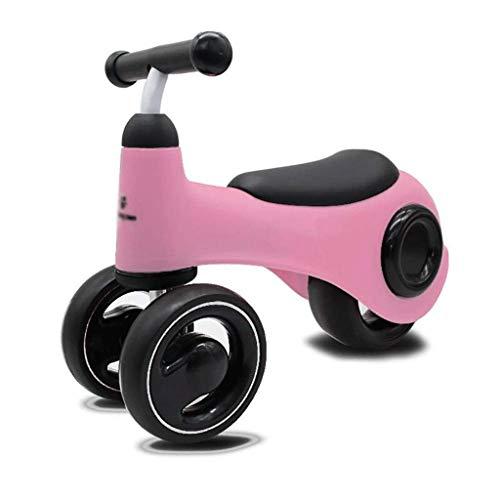 SJYDQ - Patinete infantil de 3 ruedas, original inclinado a dirección, suizo, patinete para niños, edades, rosa