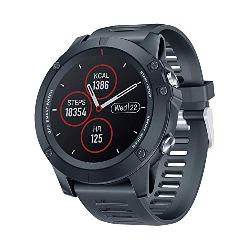 ZBY Vibe 3 Smart Watch 33 Mois Standby Temps IP67 Appel Rappel iOS Android Sports Smart Watch,B