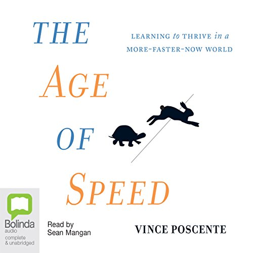 The Age of Speed audiobook cover art