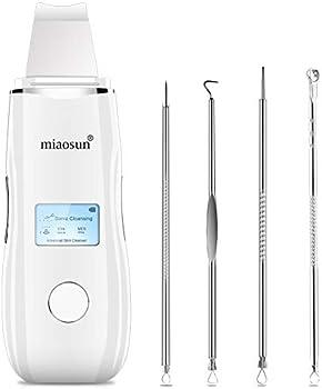 Miaosun 5 in 1 Screen Ultrasonic Skin Scrubber