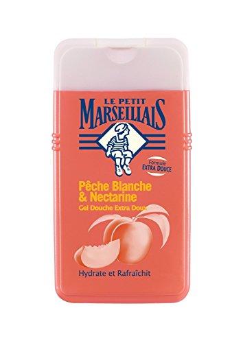 Le Petit Marseillais : gel douche peche blanche & nectarine , Duschgel Pfirsich Nectarine 250 ml
