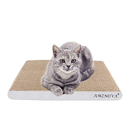 ANZNOVA Griffoirs pour Chats, Chat Griffoirs, Carton Ondulé pour Chat, Chat Planche à Gratter,...