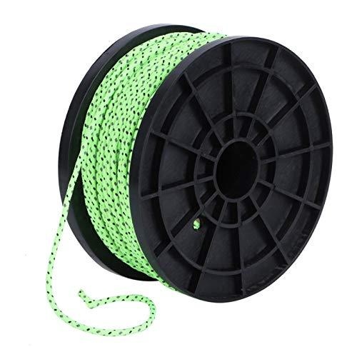Cuerda reflectante para acampar, tendedero 2.5 mm Cuerda de tienda multiusos, Cuerda a prueba de viento de pesca para mochilero Accesorios de tienda para senderismo Cable de tienda de picnic