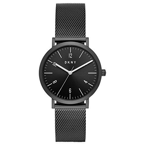 DKNY Damen Analog Quarz Uhr mit Edelstahl Armband NY2744