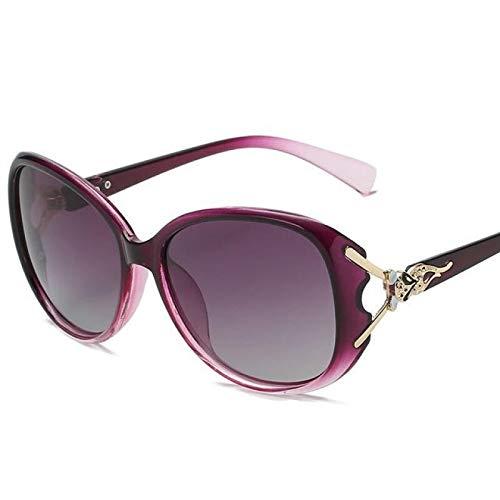 Vibner Gafas de Sol Gafas De Sol Polarizadas para Mujer Trend Driving Gafas De Sol Mujer Decoradas Gafas Únicas 3