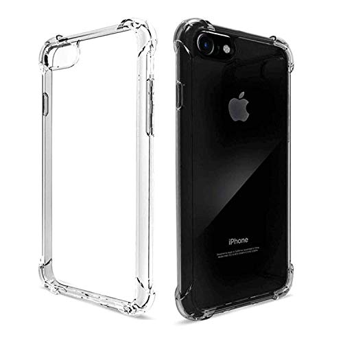 Wildbase Clear Case Compatible with iPhone 6 Plus/6S Plus, for iPhone 6 Plus/6S Plus(5.5inch) Protective Case Shockproof Case with TPU Soft Bumper for iPhone 6/6S Plus