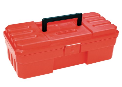 AkroMils 12Inch ProBox Plastic Hobby or Tool Storage Box Red 09912