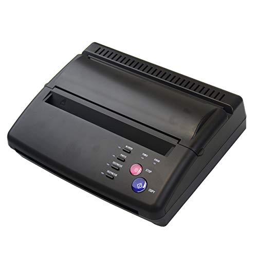 Aokbean Tattoo Transfer Stencil Machine Tattoo Copier Printer Picture Transfer Paper for Tattoo Supplies (Black)