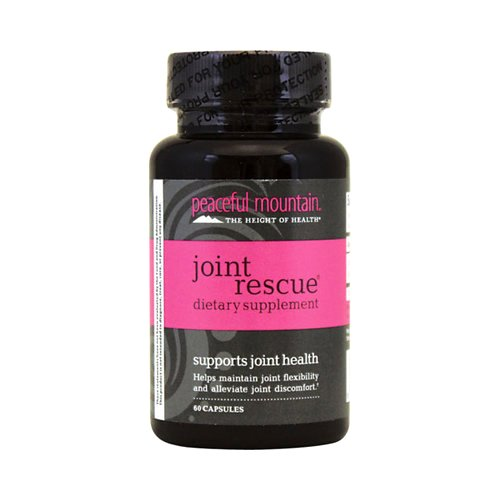 Peaceful Mountain Joint Rescue Dietary Supplement, 60 Count