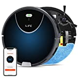 Best Mop Robots - ILIFE V80Max Mopping Robot Vacuum,2-in-1 Vacuum and Mop,Wi-Fi Review