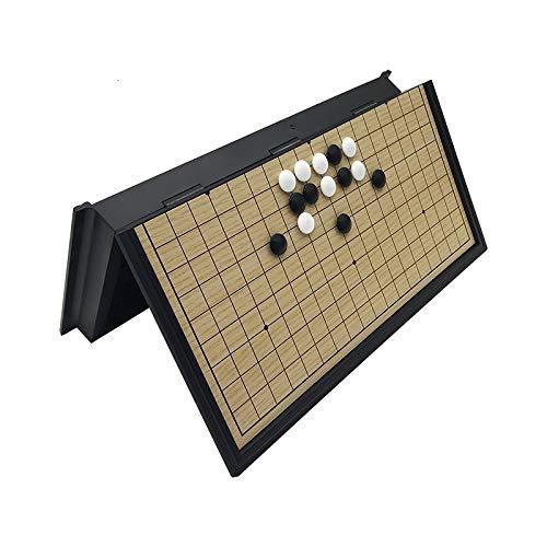 CROSYO 1 unid Chino Antiguo Juego Juego weiqi dreckers Plegable Mesa magnética go ajedrez Conjunto magnético ajedrez Juego Juguete Regalos de plástico go Juego