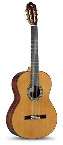 Alhambra 6 String Classical Guitar, Right, Solid Canadian Cedar, (5P-US)
