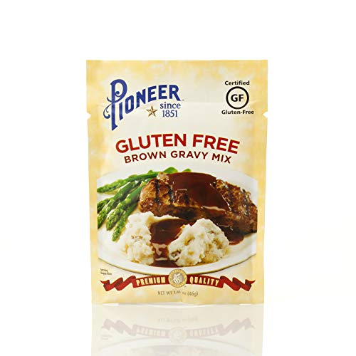 Pioneer Brand Gluten Free Brown Gravy Mix, 1.61 Ounce (Pack of 12)