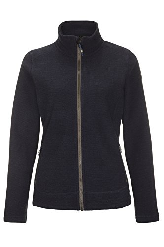 Killtec Damen Migda Fleecejacke/Strickjacke, dunkelnavy, 40