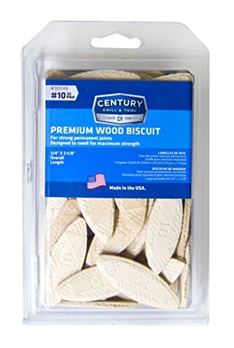 Century Drill and Tool 30048 Wood Biscuits, NO 10 by Century Drill & Tool