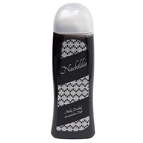 Nachtlilie Duschgel 300 mL -tiefschwarzes Duschgel, intensiver Duft exotischer Blüten und aufregendem Moschus - Qualität aus Thüringen