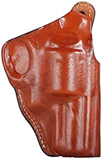 1135 High Ride Holster W/Tb for Ruger Alaskan, Brown