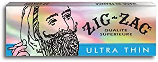 4 Packs Booklets Zig Zag Ultra Thin 1 1/4 Cigarette Rolling Papers