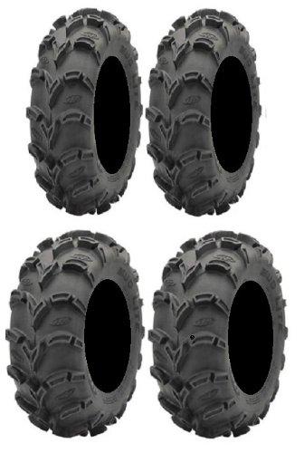 Full set of ITP Mud Lite XL 26x9-12 and 26x12-12 ATV Tires (4)