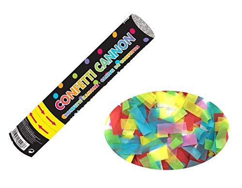 Amscan 9902995 Konfettikanone Papier mehrfarbig