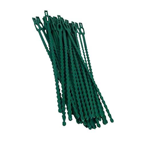 Sharplace Liens pour Ligatures Cravate Plante de Jardin Soutien Ruban Câble Arbre d'escalade - 23cm