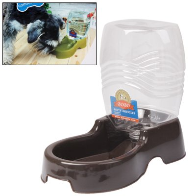 ZHANGQUAN Pet Products Dog Feeding & Watering Supplies Utility Automatic Drinking Water Dispenser Detachable Bottle with Dish Feeder for Cats and Dogs, Random Color Delivery