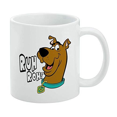 shenguang Taza blanca Scooby-Doo Ruh Roh