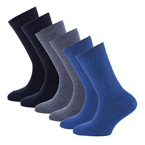 Ewers Jungen Kindersocken Socken, blau-Marine, 31-34