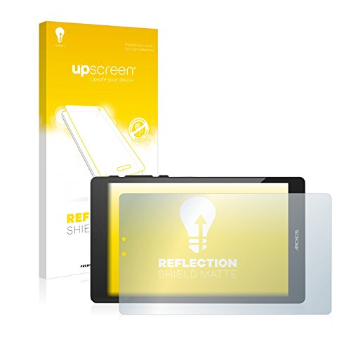 upscreen Entspiegelungs-Schutzfolie kompatibel mit Archos 80 Cesium – Anti-Reflex Bildschirmschutz-Folie Matt