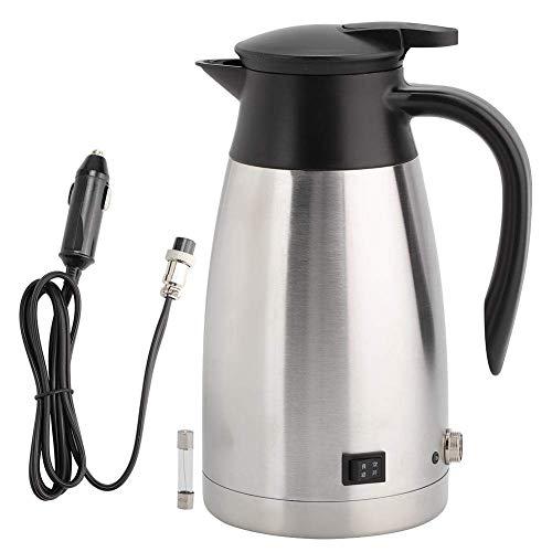 1000ml 12v 24v acier inoxydable universel voiture chauffage électrique bouilloire bouilloire tasse de cuisson de cuisson de bouilloire portable Xping