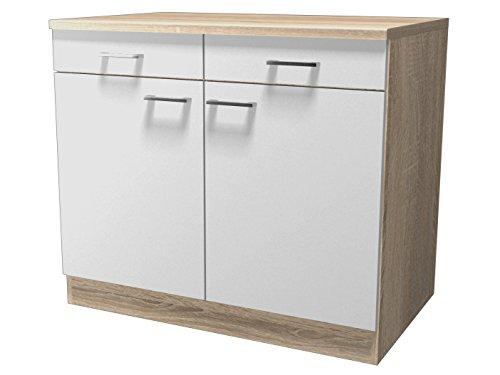 Flex Well Küche Einzelteile, Melamin, Transparent, 60cm l x 100cm w x 85cm h