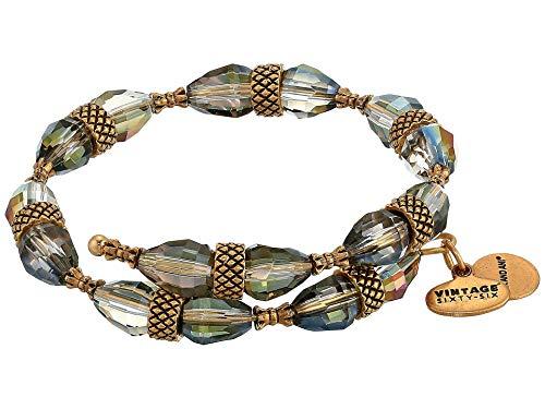 Alex and Ani Divinity Wrap Bracelet, Terra Rafaelian Gold One Size