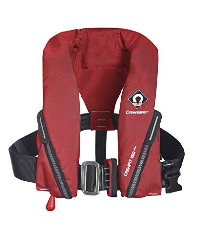Crewsaver Boating and Sailing - Crewfit 150N Junior Reddingsvest Auto met harnas - Rood - Unisex