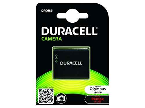 Duracell DR9686 - Batería para cámara Digital 3.7 V, 770 mAh (reemplaza batería Original de Olympus Li-50B)