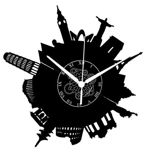 Relojes De Pared Cocina Vintage relojes de pared  Marca Instant Karma Clocks