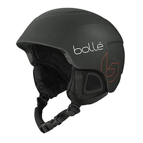 Bollé B-Lieve Unisex Skihelm Youth, Forest Mat, 53-57 cm