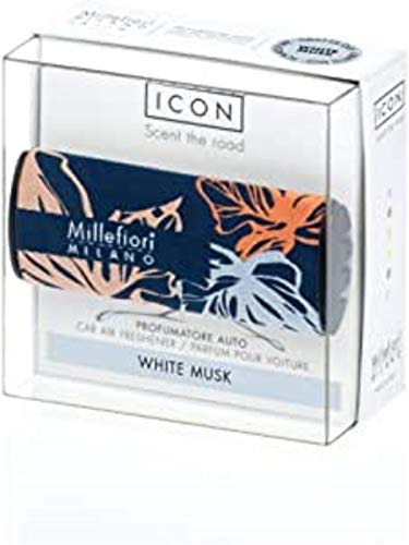 Millefiori Milano Auto Parfum White Musk (Textile Floral)