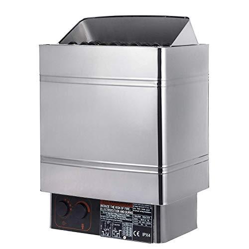 FlowerW 6KW Elektrischer Ofen Sauna Ofen Sauna 415V 5-9m³ Suna Raum(8KW)