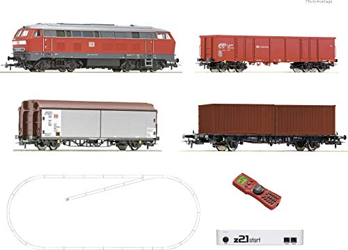 Roco 51312 H0 z21® Digital-Start-Set Güterzug der DB AG