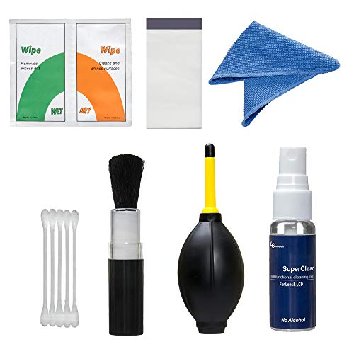 LS PHOTOGRAPHY [2Pack] 7 in 1 Care & Cleaning Kit Camera Cleaning Kit Photo Camera...